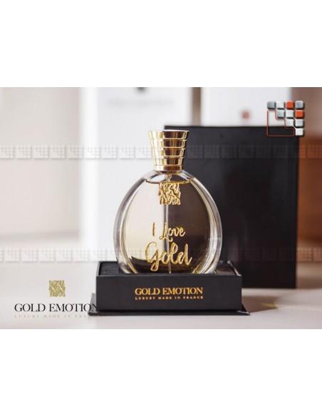 "Parfum 24K Edition exclusive ""I Love You"" GoldEmotion 802GEORP GoldEmotion plaisir d'offrir"
