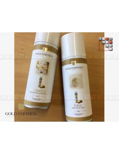 Spray Or pur Alimentaire 24K G03-SP GoldEmotion Ustensiles de Cuisine