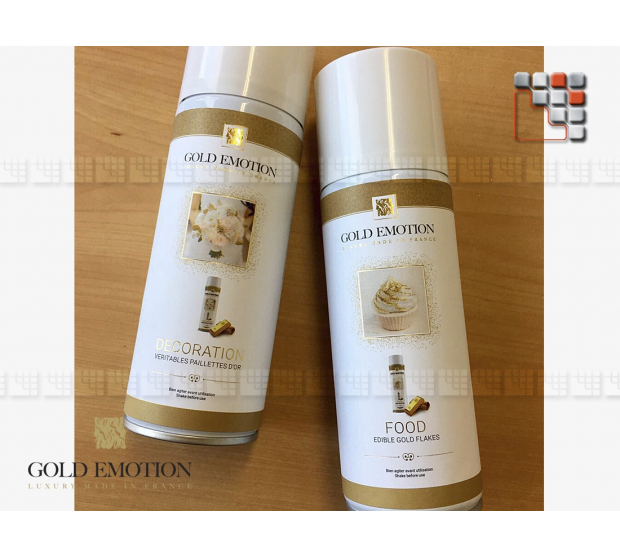 Spray Or pur Alimentaire 24K