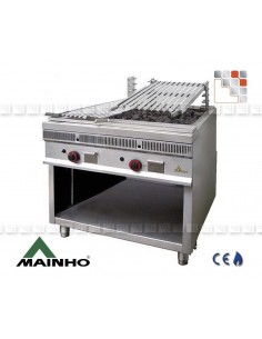 Parrillas Royal-Grill 40 Mainho 402PSI40 MAINHO® Royal Nova Bras Grill Parillas