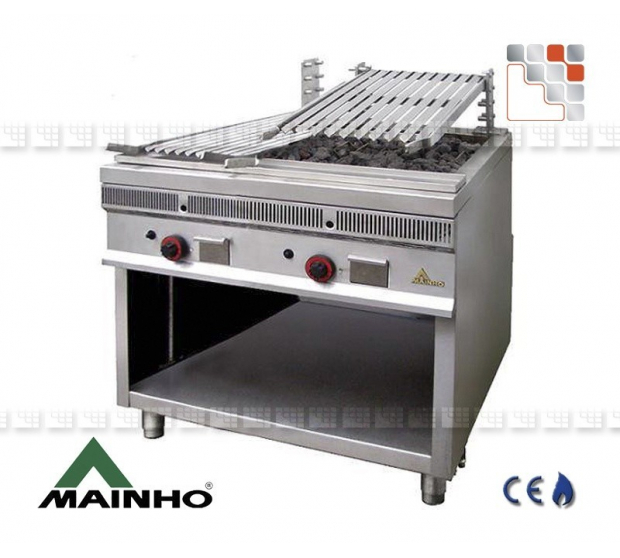 Parrillas Royal Grill 40 Mainho M04-PSI40 MAINHO® Royal Nova Bras Grill Parillas