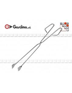 Pinces Inox pour cuisine Paella 504AC50 Garcima la Ideal - Accessoires Ustensiles Paella Garcima