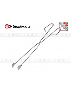 Stainless steel tongs for Paella kitchen G05-5023 GARCIMA® LaIdeal Cutlery Service