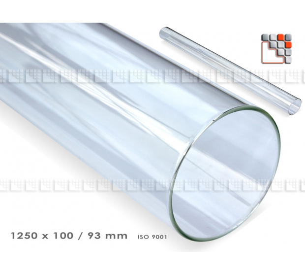 Tube en verre Quartz pour Chauffage Gaz Flame