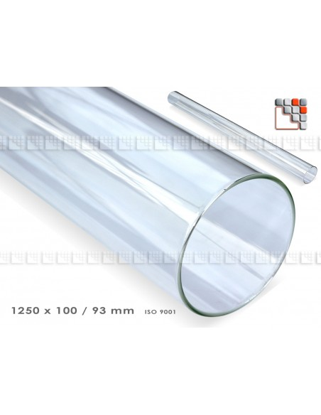 Glass Tube for Gas Flame Heating O53-602FVFH1000G FAVEX Maintenance - Spare Parts