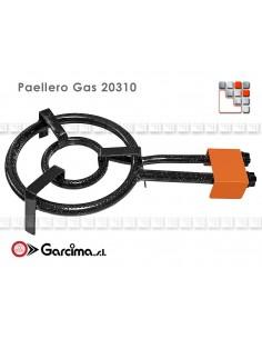 Burner Gas Paella D30 Garcima G05-20301 GARCIMA® LaIdeal Gas Burners Paella Garcima