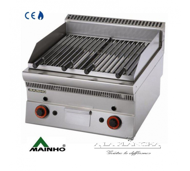 Grill Gas Super-Line 65 Mainho M04-SLB6G MAINHO® Royal Nova Bras Grill Parillas