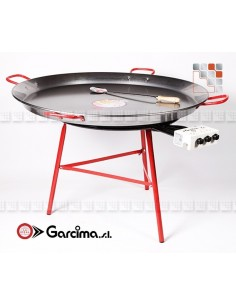 Paella Dish Kit 115L Emaille Garcima G05-K20215L GARCIMA® LaIdeal Kit dish Paella Garcima