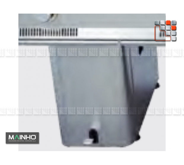 Footwork Wok Stand M04-OPSWP MAINHO® Fryers Wok Steam-Oven