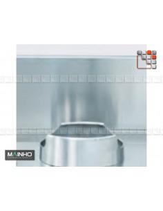 Credence Stainless Steel Wok W Mainho M04-OPSWC MAINHO® Fryers Wok Steam-Oven
