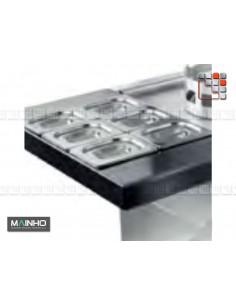 Rack Bacs Gastro GN Wok W MAINHO M04-OCW MAINHO® Friteuse Wok Four Vapeur