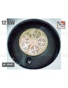 Burner Gas 12kW Wok W Mainho M04-OQPW MAINHO SAV - Accessoires Fryers Wok Steam-Oven