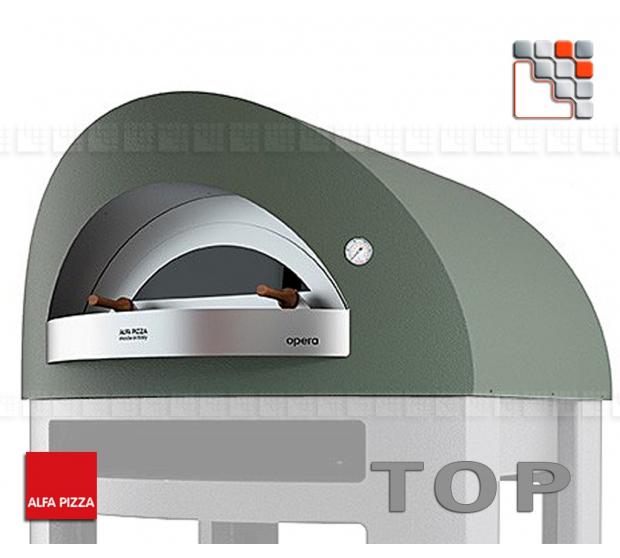 Four a pizza OPERA Bois 8 Alfa Forni A32-FXOPEU-LVES ALFA FORNI® Fours mobiles ALFA FORNI