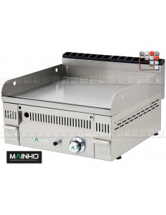 Fry-Top PL-60N Gas EuroSnack Mainho M04-PL60N MAINHO® FryTops MAINHO EURO-CROM SNACK