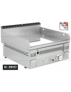 Fry-Top PC-60N Gas Euro-Crom Mainho PC-60 MAINHO® FryTops MAINHO EURO-CROM SNACK
