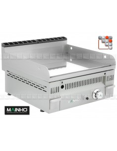 Fry-Top PC-60N Gaz EuroCrom MAINHO M04-PC60N MAINHO® Fry-Top Fullcrom 50 EUROCROM EUROSNACK