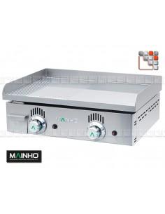 Plancha NCR-60 Novo Crom Grooved Mainho NCR-60 MAINHO® Plancha MAINHO NOVO CROM SNACK