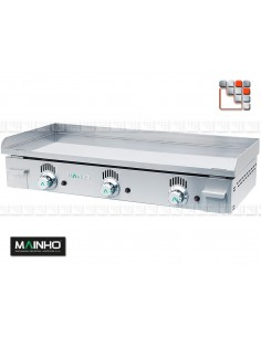 Plancha NC-100 Novo-Crom Mainho M04-NC100 MAINHO® Planchas MAINHO NOVO CROM SNACK