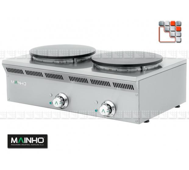 Crepiere ELC-82EM Eco-Line 230V MAINHO M04-ELC82EM MAINHO® Gamme ECO-LINE pour Cuisine Compacte ou Food-Truck