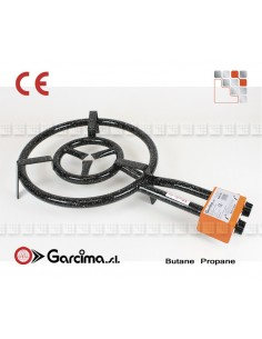 Garcima Paella D50 Gas Burner G05-20500 GARCIMA® LaIdeal Gas Burners Paella Garcima