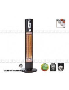 Colonne Chauffante HELIOS W09-HEL12 Warmwatcher® Chauffage de Terrasse