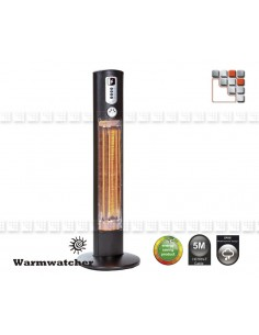 Column Heater HELIOS W09-HEL12 Warmwatcher® Outdoor Patio Heater