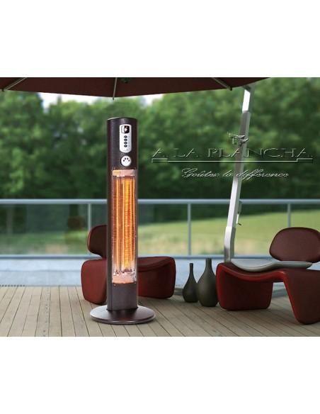 HELIOS Heating Column W09-HEL12 Warmwatcher® Outdoor Patio Heater