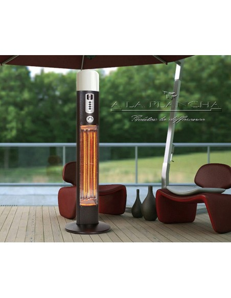 Column Hot DIANA W09-HDI12 Warmwatcher® Outdoor Patio Heater