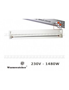 Lampe Carbone de Chauffage Warmwatcher W09-LR01475CF Warmwatcher® Chauffage de Terrasse