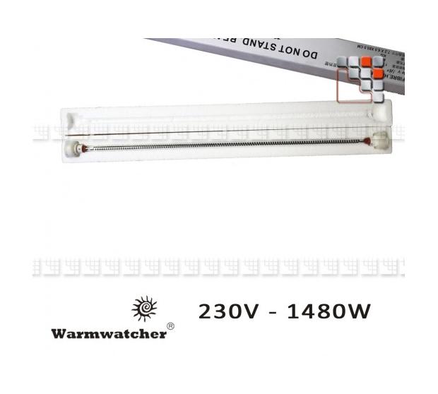 Tube Carbone de Chauffage Warmwatcher W09-LR01475CF Warmwatcher® Chauffage de Terrasse
