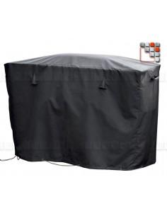Housse de protection 110 x 70 x 100 cm Anti-UV 110AH102522 A la Plancha® Housses & Protections