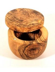 Hand Salt D12 in wood of Olivier LAURENT BARBIER B18-6040M LAURENT BARBIER France Kitchen Utensils