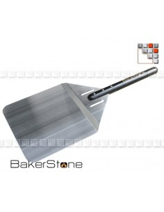 Shovel has Stainless steel Pizza BakerStone B01-BS15P BakerStone® Spécial Pizza Ustensils