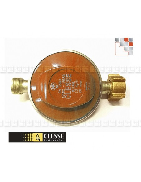 Regulator Propane 37 mBar 1.5 kg/h C06-NI1002 Clesse industries¨ Gas accessories