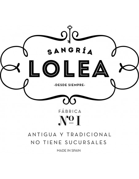 Sangria Lolea No. 1 L33-LL1 COLMADO CASA LOLA S.L. Wines Cocktails & Drinks