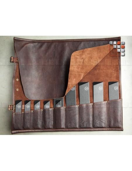 Sacoche Cuir 9 etuis MAINHO W47-LCK913 WITLOFT® Textiles et Cuirs