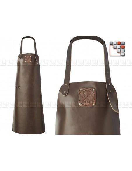 Tablier Cuir Regular Dark Brown MAINHO 506ATWL13 WITLOFT® Textiles et Cuirs