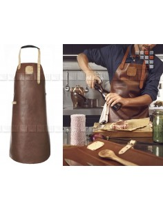 Apron Leather Regular Cognac/Nude MAINHO W47-L07 WITLOFT® Textiles