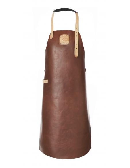 Tablier Cuir Regular Cognac/Nude MAINHO 506ATWL07 WITLOFT® Textiles et Cuirs