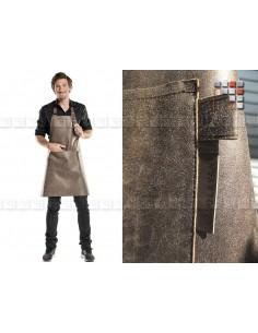 Apron Leather Gaucho Restaurant 506ATWL06 A la Plancha® Textiles