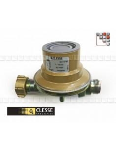 Regulator Propane gas Pressure 37/50 mbar C06-185 Clesse industries¨ Gas accessories