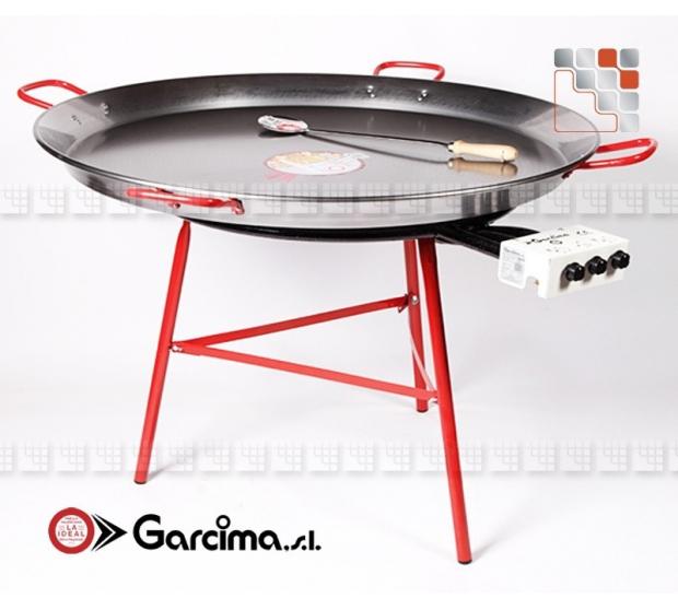 Kit Dish Paella 115 Emaille L70P TC Garcima 20215L70P GARCIMA® LaIdeal Kit dish Paella Garcima