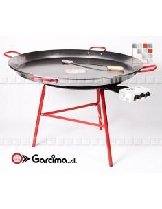 Kit Paella 115D90P Emaille Garcima G05-K20215D90P GARCIMA® LaIdeal Kit Plat Paella Garcima