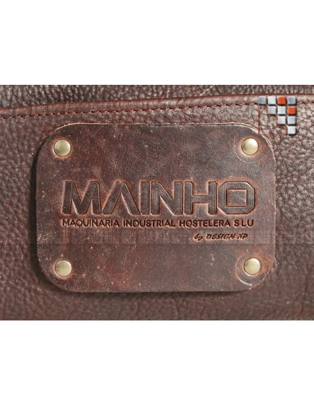 Leather bag 9 pouch MAINHO 506ATWLCK9-13 WITLOFT® Textiles