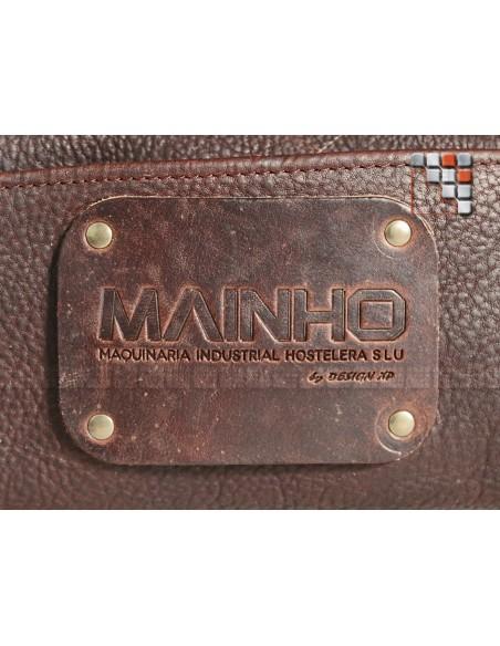 Logo cuir accessoires Mainho
