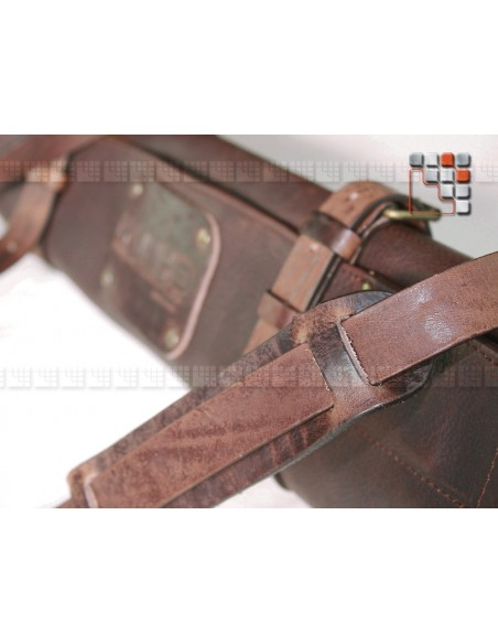 Messenger bag Leather 5+1 cases MAINHO W47-LWKH WITLOFT® Textiles