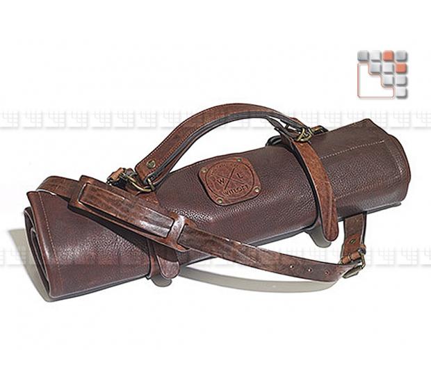 Besace Cuir 5+1 étuis MAINHO 506ATWLWKH06 WITLOFT® Textiles et Cuirs