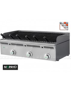 Grill ELB-93GN Eco-Line Barbecue Mainho M04-ELB93GN MAINHO® ECO-LINE MAINHO Food Truck