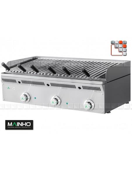 Grill ELB-93GN Eco-Line Barbecue Mainho M04-ELB93GN MAINHO® ECO-LINE MAINHO Food Truck
