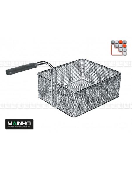 Friteuse ELF-31EMG 8L EcoLine MAINHO M04-ELF31EM MAINHO® Gamme ECO-LINE pour Cuisine Compacte ou Food-Truck